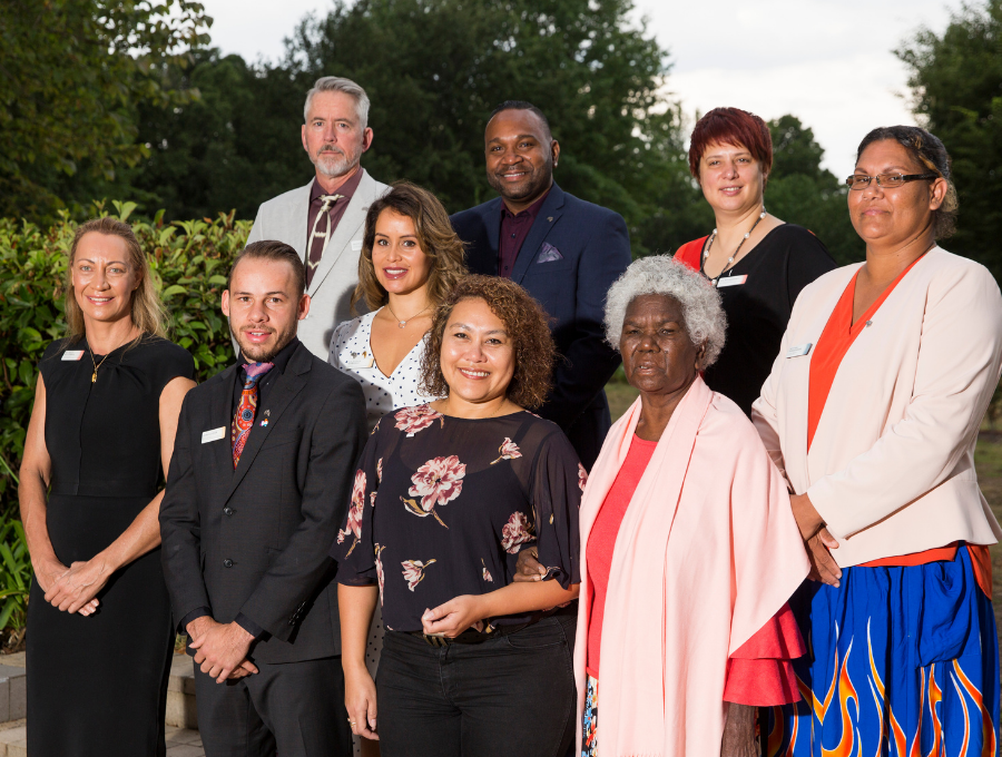 Image of 2018 Indigenous Australian of the Year finalists.